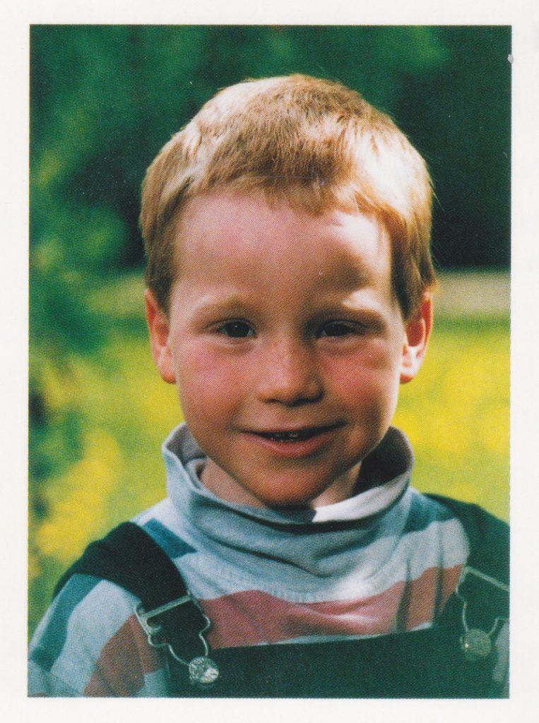 Mathias Vögele, 5 Jahre alt