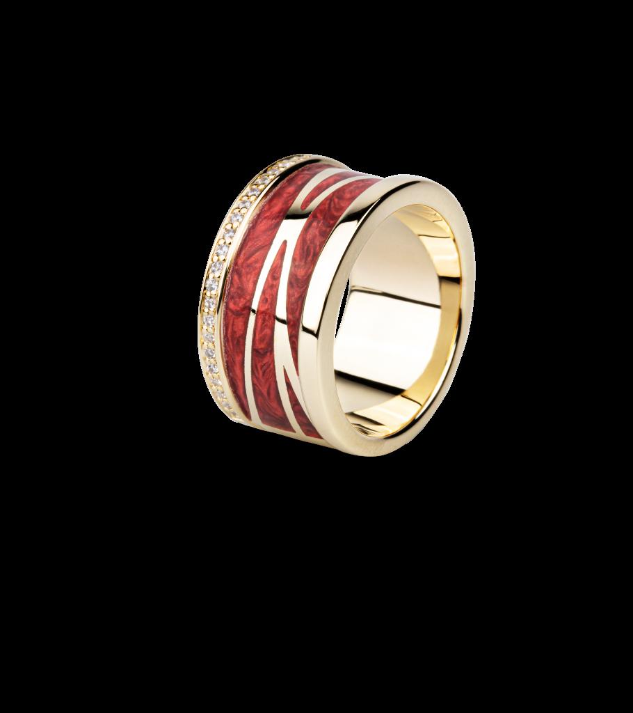Schmuckset Lack Ring